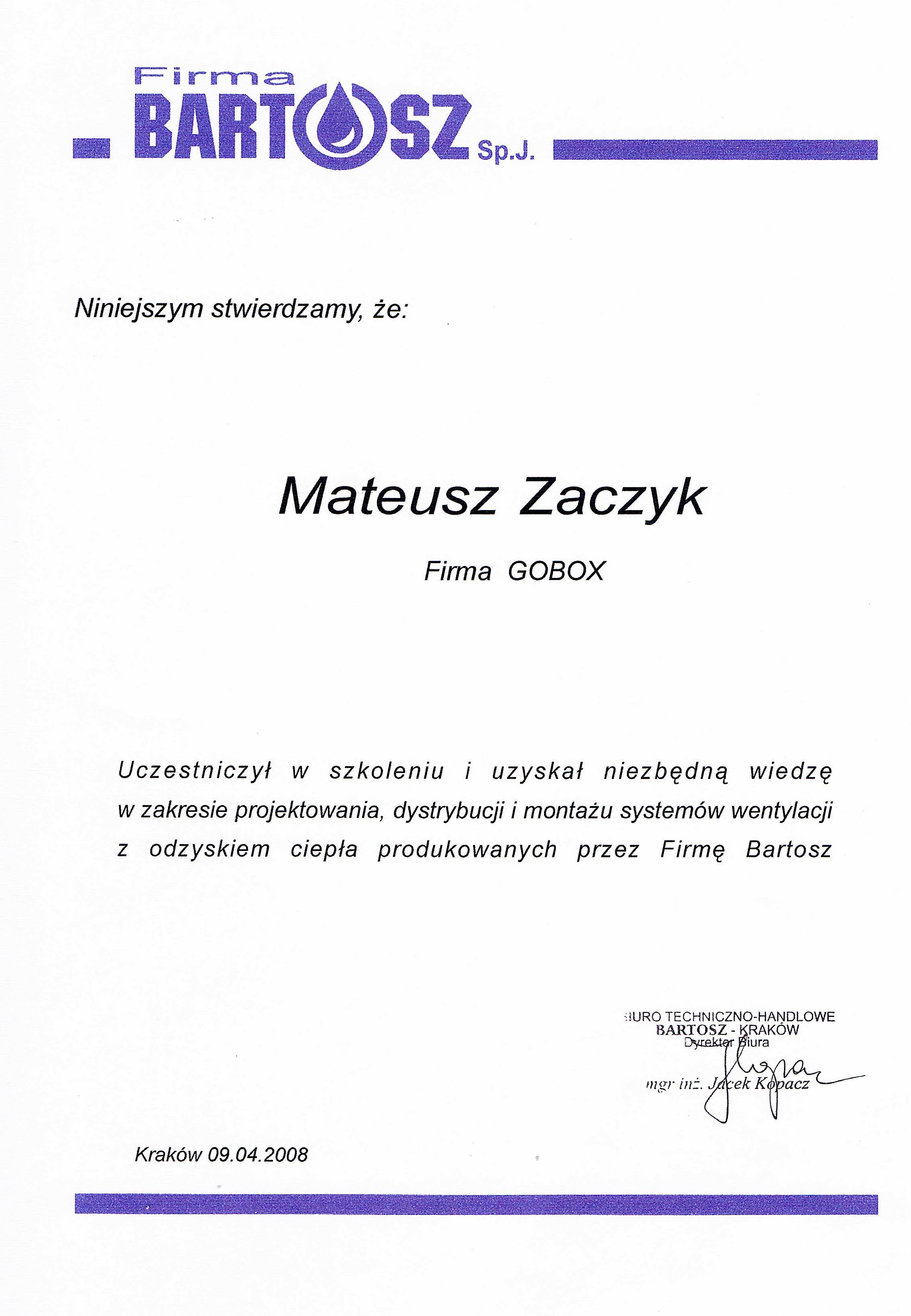 Certyfikaty 09