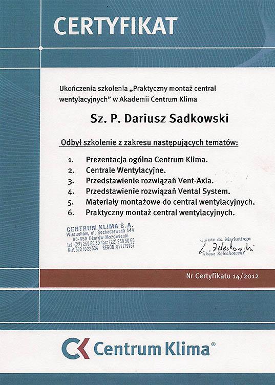 Certyfikaty 13